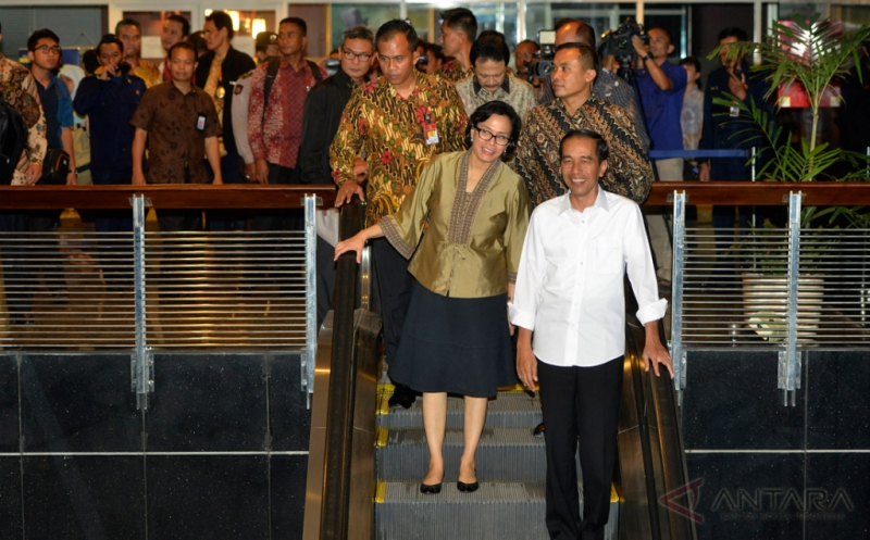 Jokowi Tinjau Jalannya Program Tax Amnesty Hari Terakhir Periode I