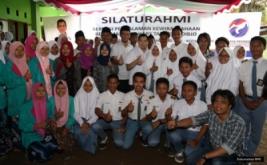 <p>  CEO MNC Group yang juga Ketua Umum Partai Perindo Hary Tanoesoedibjo dalam silaturahmi ke SMK berbasis pesantren di Pondok Pesantren (Ponpes) Mujtahidin Langgeng Sari, Kota Banjar.</p>