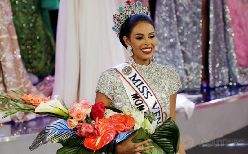 Keysi Sayago Terpilih Menjadi Miss Venezuela 2016
