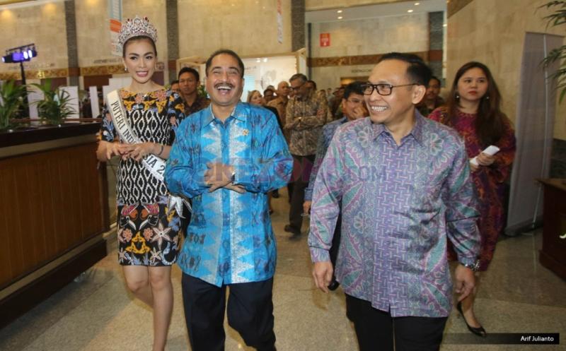 Menteri Pariwisata Buka Garuda Indonesia Travel Fair 2016