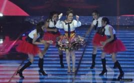 Ayu Ting Ting Berikan Penampilan Spesial di Amazing 14 GlobalTV