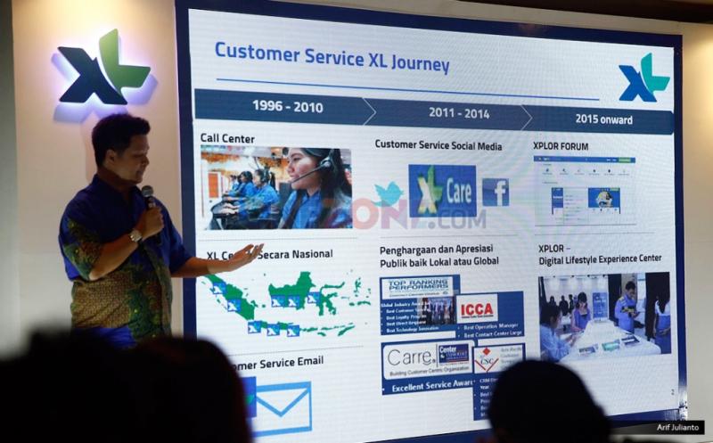 XL Fokus Kembangkan Bisnis Layanan Data