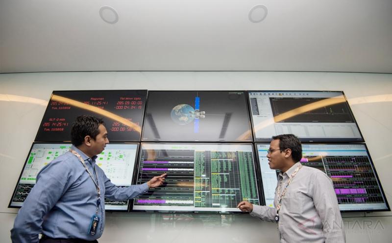 Pemantauan Orbit BRIsat untuk Cek Posisi Satelit