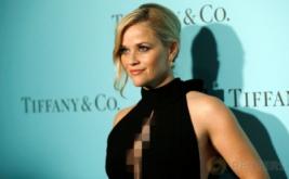 Reese Witherspoon Tampil Cantik dengan Busana Berwarna Hitam