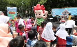 Puluhan Fans Cilik Serbu Kiko pada Acara Meet and Greet
