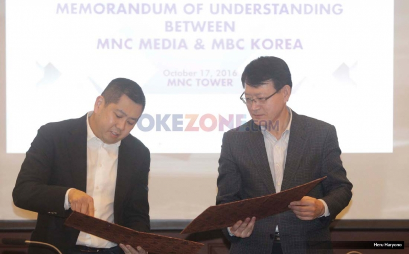 MNC Media Jalin Kerjasama dengan Televisi Terbesar di Korea