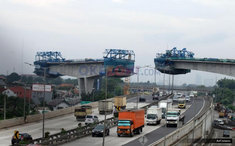 Pembangunan Jalan Layang Transjakarta Tendean-Ciledug Diperkirakan Rampung Desember