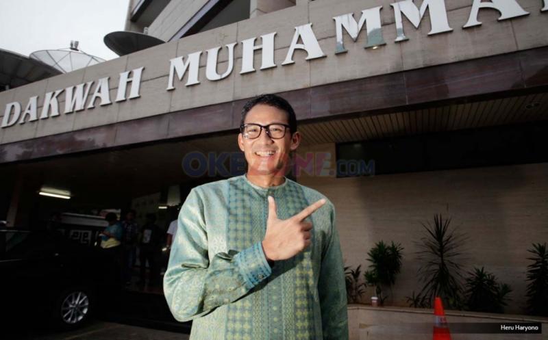 Anies-Sandiaga Silaturahmi ke PP Muhammadiyah, Bahas Jakarta Lebih Aman