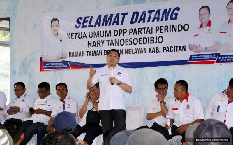 Ramah Tamah di Pacitan, Hary Tanoe Soroti Kesejahteraan Nelayan