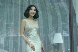 Syuting Video Klip, Giselle Jadi Manekin Toko Baju Pengantin