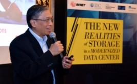 "<p>  Suasana seminar ""Realita Baru terkait Storage pada Data Center Modern"" di Jakarta, Rabu (19/10/2016).</p>"