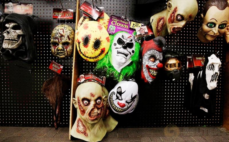 Jelang Halloween, Toko di New York Mulai Jajakan Kostum Menyeramkan