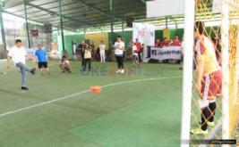 Pembukaan turnamen KPPM Futsal Challenge 2016 yang digelar di Grand Futsal Kuningan, Jakarta, Sabtu (22/10/2016).