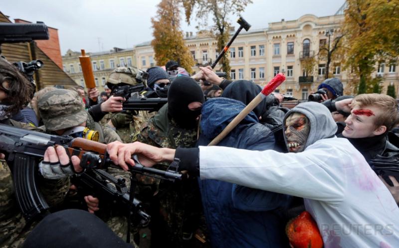 Halloween di Ukraina, Zombie