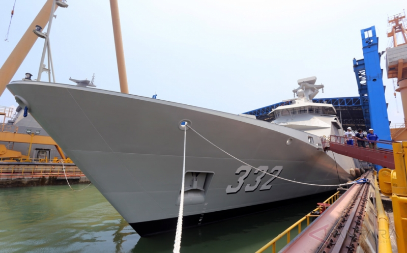 Produksi Kapal Perang Canggih di PT PAL Indonesia