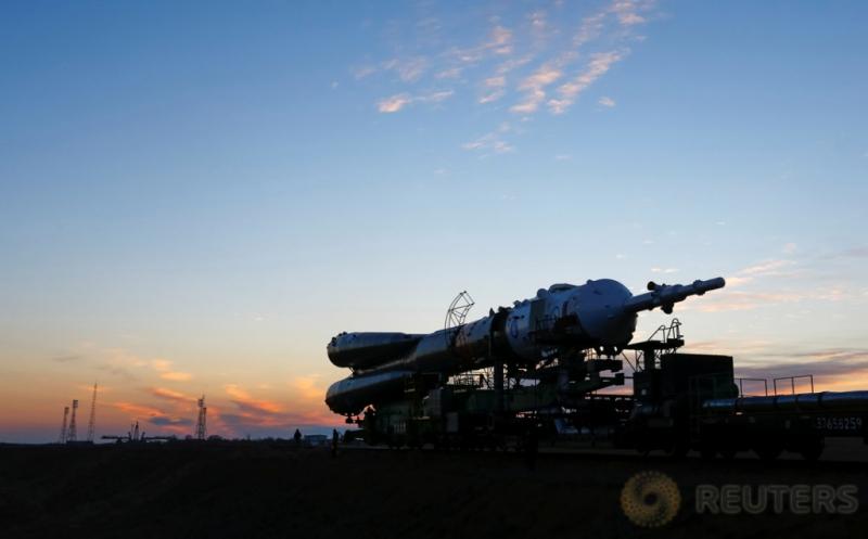 Jelang Peluncuran Roket Soyuz MS-03 di Kazakhstan