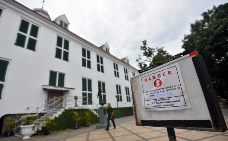 Fumigasi agar Museum Fatahillah Terbebas dari Rayap dan Jamur