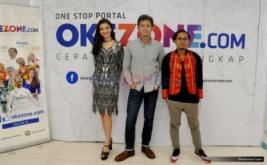 Kunjungan Pemain Film Surga yang Tak Dirindukan ke Kantor Okezone