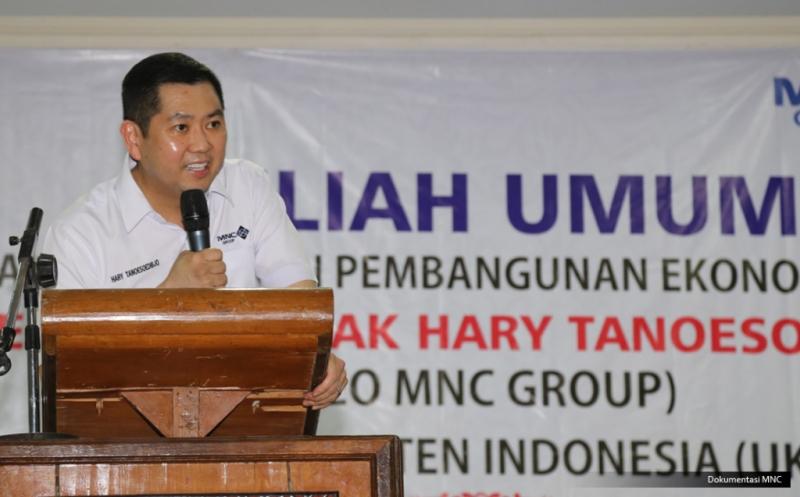 Hary Tanoe Berikan Kuliah Umum kepada 2.000 Mahasiswa UKI Toraja