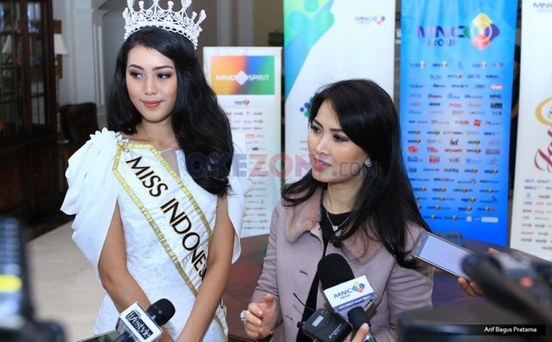 Chairwoman of Miss Indonesia Organization Liliana Tanoesoedibjo Resmikan Sekolah Alam Miss Indonesia