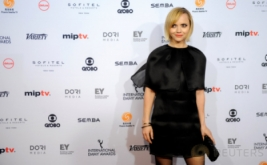 Hadiri International Emmy Awards, Christina Ricci Pilih Kenakan Busana Hitam
