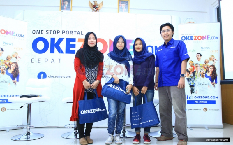 Okezone Goes to Campus Sambangi Universitas Pancasila