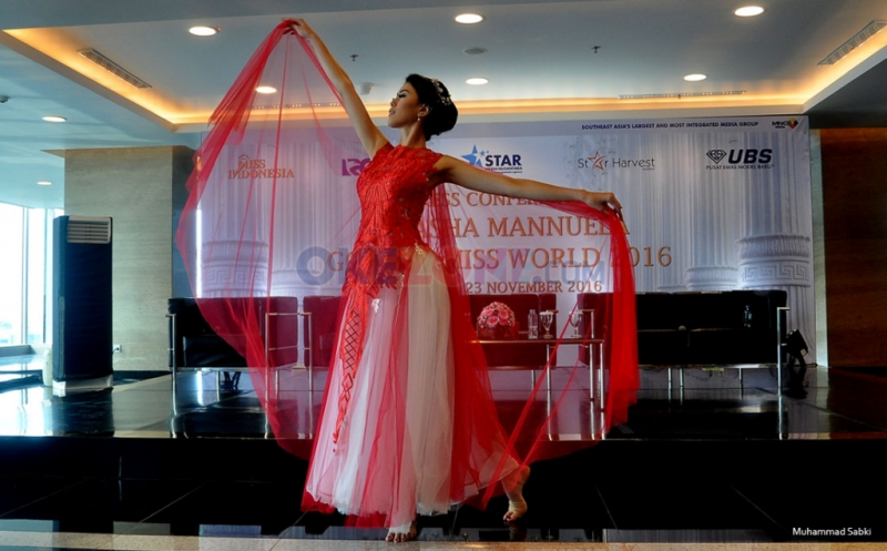 Natasha Mannuela Akan Menari Balet dalam Fast Track Talent Show di Ajang Miss World 2016