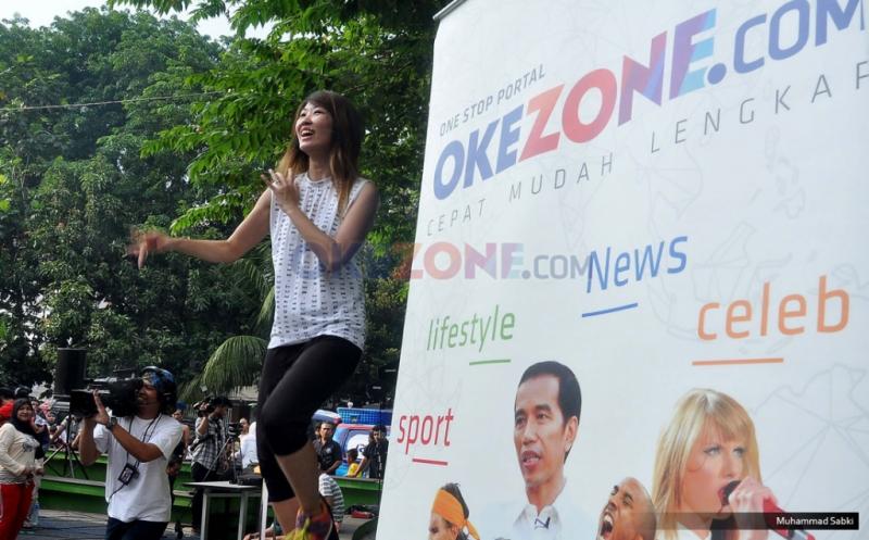 Gaya Hidup Sehat, Okezone Gelar Okezumba di Summarecon Kelapa Gading
