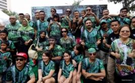Teuku Zacky Ajak Warga Pelihara Taman Hutan Hujan Tropis