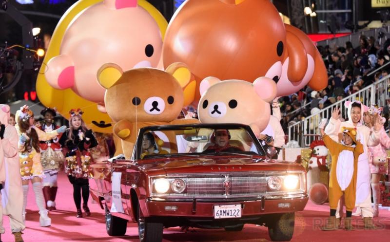 Yuk, Tengok Kemeriahan Parade Natal Hollywood ke-85!