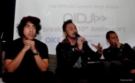 "10th Album  Perdana ""Breakthru"",  Nidji Produksi 225 Album Piringan Hitam"