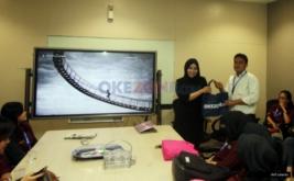 <p>  Puluhan mahasiswa Universitas Pakuan Bogor berkunjung ke Kantor Redaksi Okezone, Jakarta, Selasa (29/11/2016).</p>