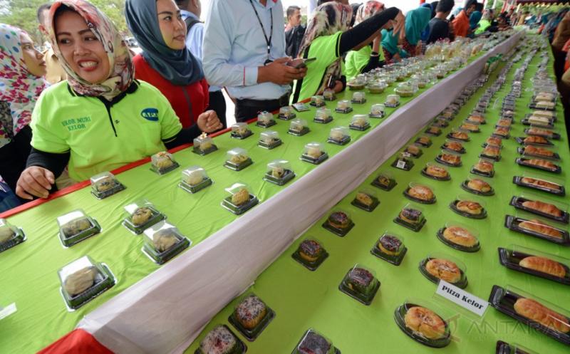 183 Makanan Berbahan Kelor Dipamerkan pada Festival Makanan di Palu