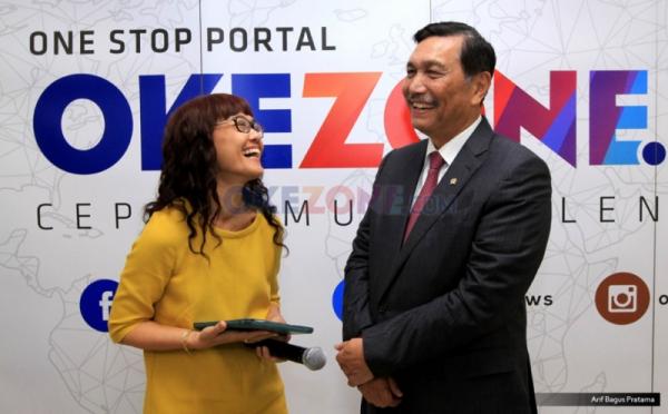 Kongkow Hot Seat Satu Jam Bersama Menko Maritim Luhut Binsar Pandjaitan