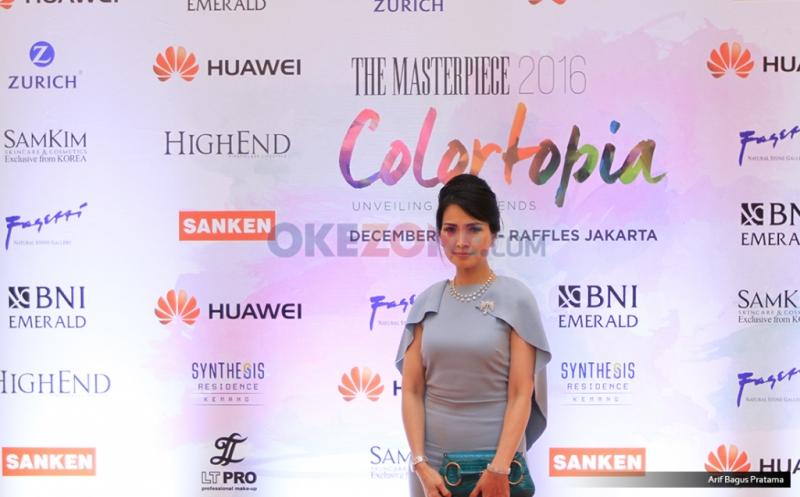 Chairwoman HighEnd Magazine Liliana Tanoesoedibjo Hadiri Fashion Show The Masterpiece 2016.
