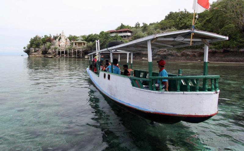 Pulau di Kawasan Bali Barat Ini Tawarkan Keindahan Bawah Laut