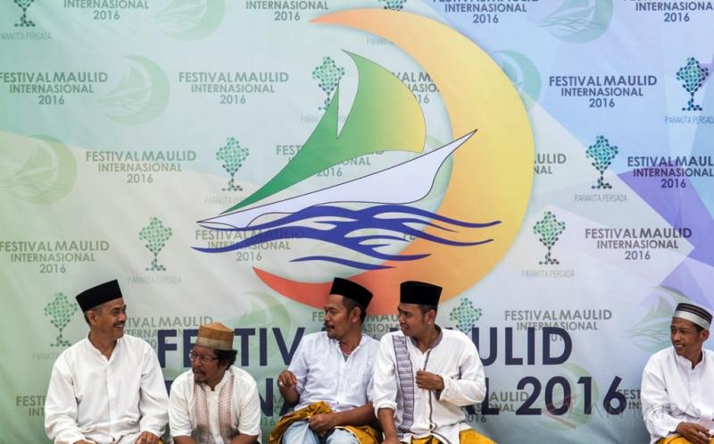 Arak-arakan Perahu Hias di Festival Maulid Internasional 2016