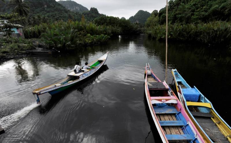 Transportasi Objek Wisata Rammang-Rammang Maros