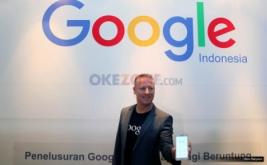 <p>  Managing Director Google Indonesia Tony Keusgen mengumumkan Google Year in Search 2016</p>