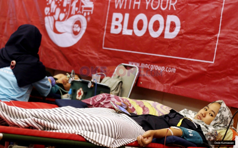 Ratusan Karyawan MNC Group Ikuti Donor Darah MNC Love Donation