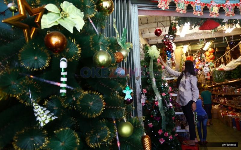 Permintaan Pernak-pernik Natal Meningkat 50 Persen