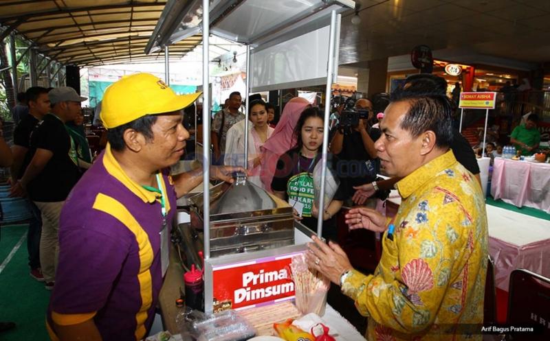 Pembukaan Halal Food Festival 2016