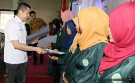 <p>  Sebanyak 20 mahasiswa/i UNINSU yang berprestasi menerima dana pendidikan MNC Group.</p>