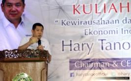 <p>  Chairman and CEO MNC Group Hary Tanoesoedibjo memberikan kuliah umum di Universitas Islam Nahdlatul Ulama (UNISNU), Jepara, Jawa Tengah, Rabu (21/12/2016).</p>