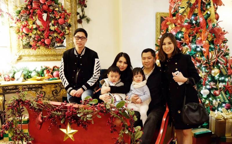 Cinta Kasih Natal Hary Tanoe Bersama Keluarga di Amerika