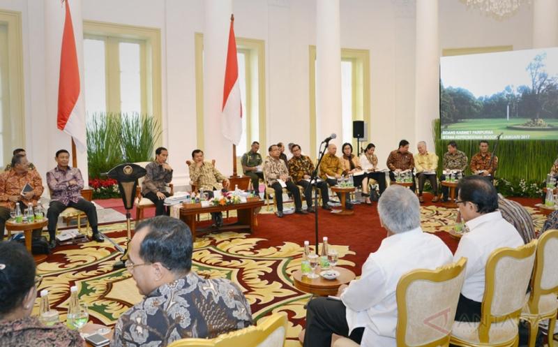 Presiden Pimpin Sidang Kabinet Paripurna Bahas Program 2017