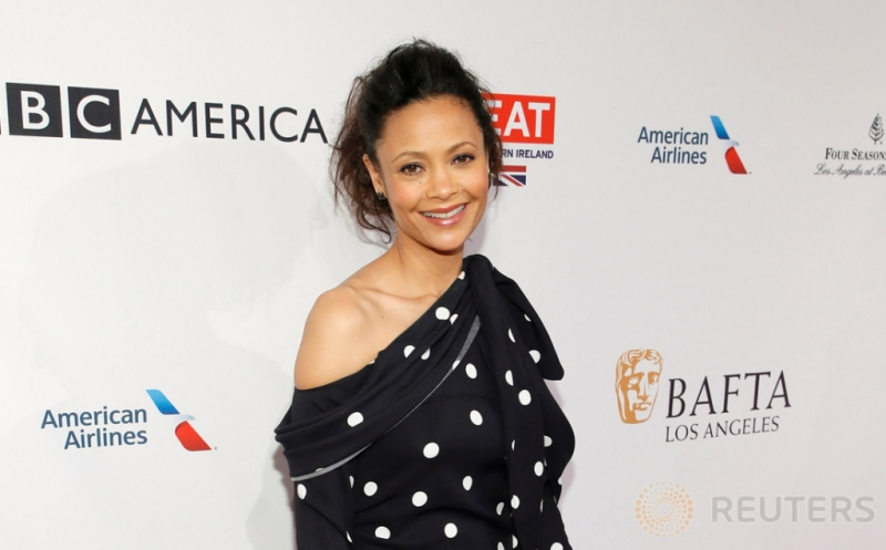 Thandie Newton Hadiri BAFTA Tea Party 2017