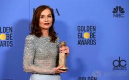 Isabelle Huppert Raih Penghargaan Golden Globe Awards 2017