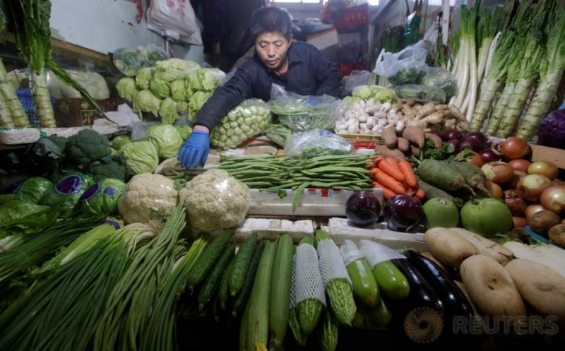 Kenaikan Inflasi di China Tercepat sejak 2011