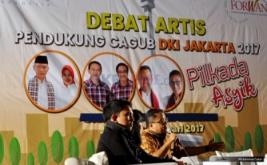 Debat Artis Pendukung Cagub DKI 2017